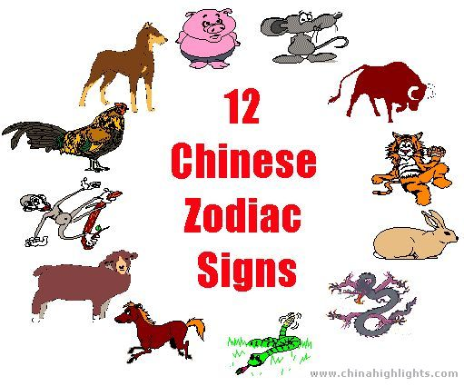 twelve chinese zodiac signs. Black Bedroom Furniture Sets. Home Design Ideas